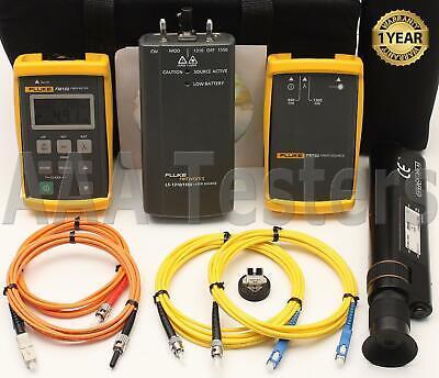 Fluke Ftk-200 Mm Sm Fiber Test Kit Ls-13101550 Fm150 Fs150 Ftk