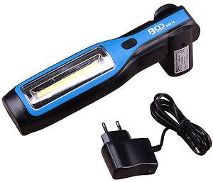 Akku Arbeitslampe Handlampe Werkstattlampe COB LED Lampe mit Magnet und Haken