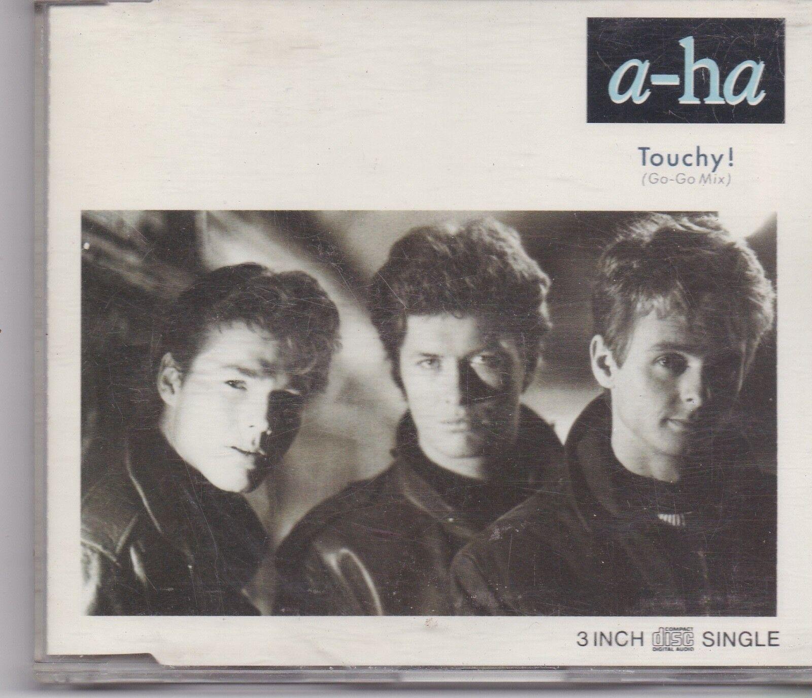 A-Ha-Touchy 3 inch cd maxi single
