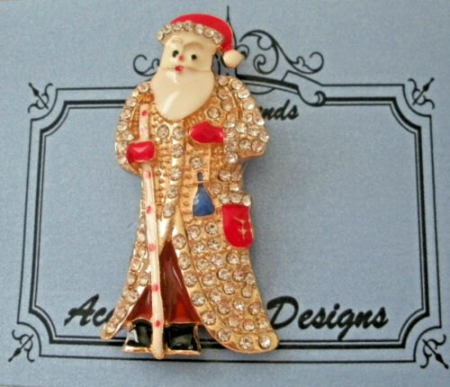Needle Minder Magnet Santa Claus Accoutrement Designs Needlepoint