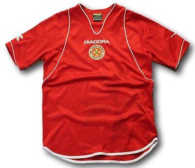 Circa 2007 09 Mens Malta Soccer Football Shirt Jersey  By Diadora Size S image