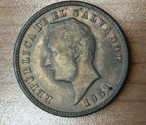 1951 El Salvador 10 Centavos