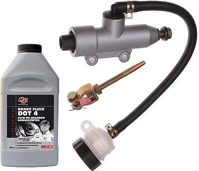 Bremszylinder Bremspumpe Bremse Hinten QUAD ATV 200 250 BASHAN KINROAD Dot4 485
