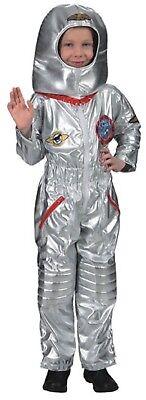 Jungen Silber Astronaut Astronaut Buzz Buch Tag Raum Kostüm Kleid Outfit