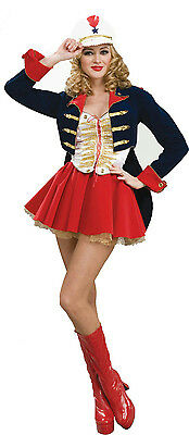 Women's Designer Collection Deluxe Flirty Toy Soldier Adult Costume XL 18-20 - Womens Toy Soldier Costume