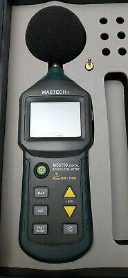 Mastech Ms6700 Auto Range Digital Sound Level Meter Tester