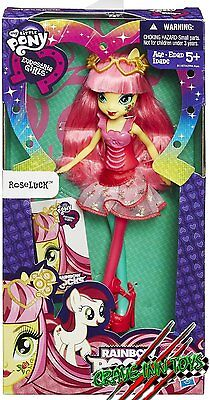 My Little Pony Equestria Girls Roseluck Rainbow Rocks Doll 2015 New  In Stock