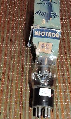 Bid for one 42 Néotron test NOS