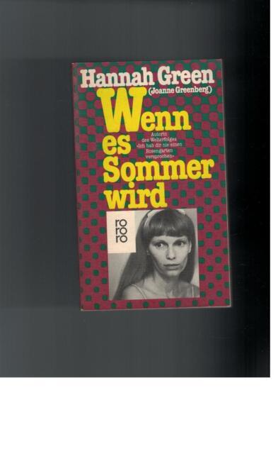 Hannah Green - Wenn es Sommer wird - 1983