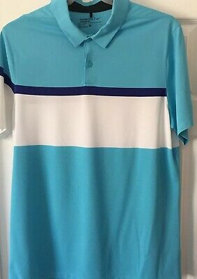 Mens Nike Golf Polo Shirt Dri-Fit Size Large New