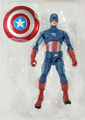 Marvel Legends CAPTAIN AMERICA Loose Figure FAT THOR Avengers COMPLETE Bro BaF ⭐