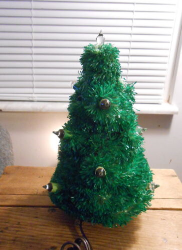 "Vintage Glolite  Electric Christmas Tree - 9"" tall"