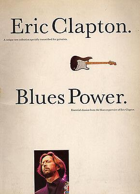 ERIC CLAPTON Blues Power GUITAR TRANSCRIPTION+TAB free UK POST