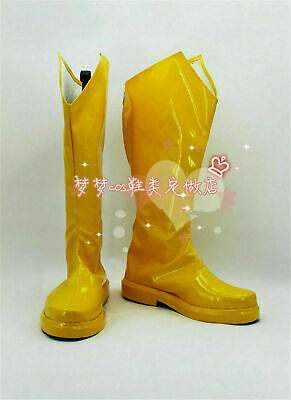 The Flash Luka Cosplay Prop Boots Halloween Gift Yellow Shoes Custom-Made Unisex - Cheap Halloween Boots