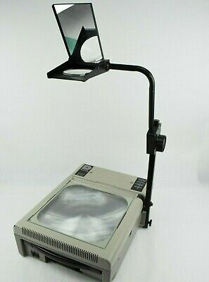 Dukane 641 Overhead Projector Folding Arm Transparency