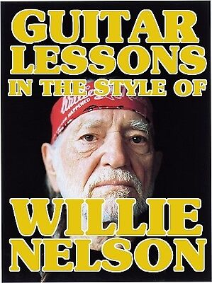 Guitar Lessons In The Style Of Willie Nelson DVD on Rummage