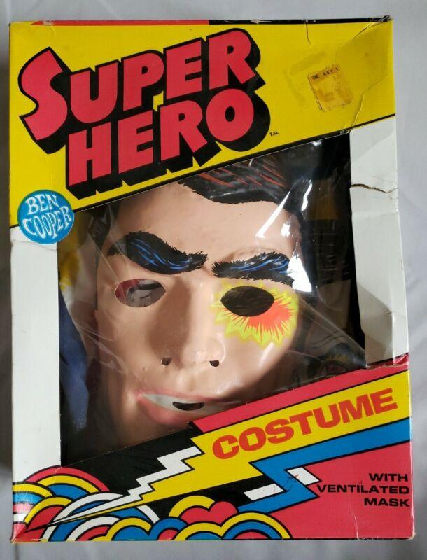 1972 The Six Million Dollar Man Halloween Costume  - Ben Cooper - Medium (8-10)