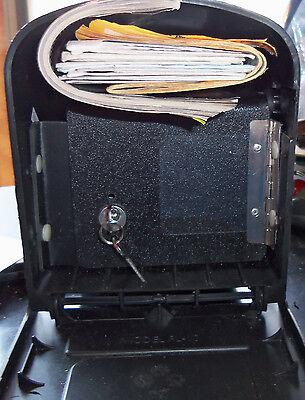 Mailbox Locking Insert Door For Your Medium Size Plastic Solar Or Gibralter A