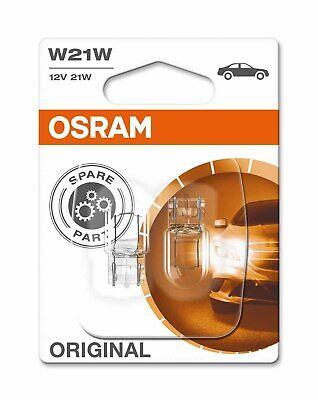 OSRAM GLÜHBIRNEN ORIGINAL W21W 12V 21W W3x16d NEBELSCHLUSSLICHT BREMSLICHT