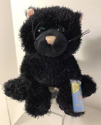 WEBKINZ-GANZ-BLACK CAT-HALLOWEEN-Plush-Hang Tag Unopened](Webkinz Halloween)