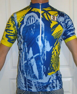 CYCLING JERSEY   BIEMME VINTAGE 80 s maglia RETRO MAILLOT trikot   size XL 7a2494bae
