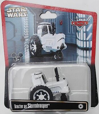 ++ Disney Pixar Cars - Star Wars - Tractor as Stormtrooper