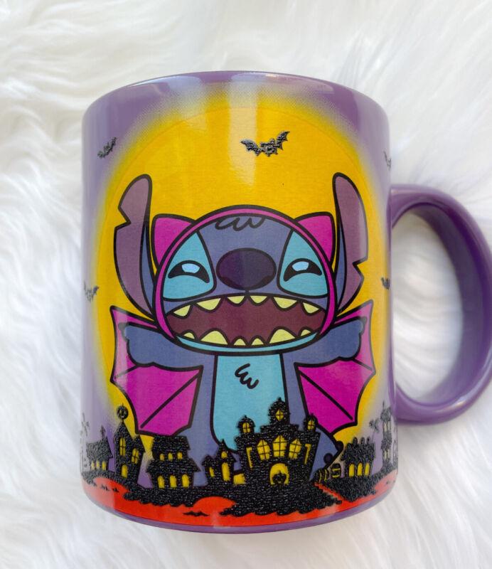 [Brand New] Disney Lilo & Stitch Halloween Vampire Ceramic Mug - Limited Edition