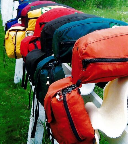 Rocking Seneca All-In One Saddle Pack  - Fits perfectly behind your saddle
