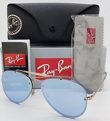 NEW Rayban Sunglasses Blaze Aviator RB3584N 90531U 58mm Copper Violet (Sunglasses Blaze)