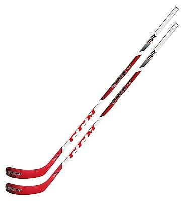 f3086b5b2ca 2 New CCM RBZ 240 Grip hockey stick 65 flex Int P40 LH L left hand  intermediate