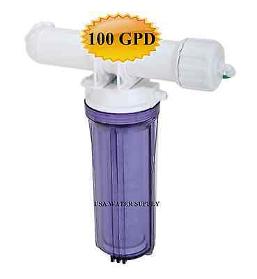 100 GPD Reverse Osmosis Water Filter System, Hydroponics Etc. (compare price)