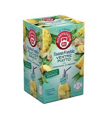 tisana fredda ventre piatto finocchio e ananas 18 * 2,5 tot 45 gr Pompadour