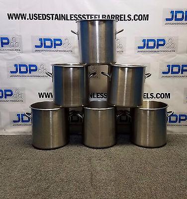 26 Quart stainless steel commercial stock pot