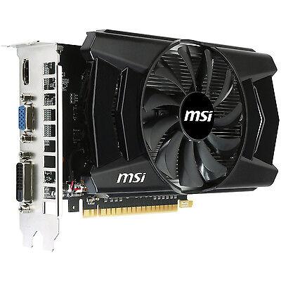 MSi GeForce GTX 2GB GDDR5 PCIe DVI/VGA Video Card w/HDMI & HDCP - N750Ti-2GD5/OC
