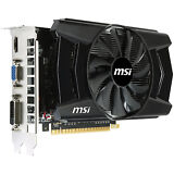 MSi GeForce GTX 2GB GDDR5 PCIe DVI/VGA Video Card w/HDMI & HDCP - N750Ti-2GD5/OC