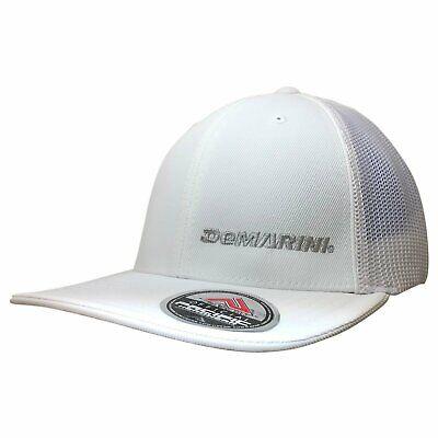 DeMarini Flexfit Hat - White/Silver