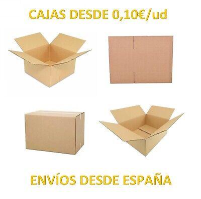 Cajas de Cartón Baratas Marrón Canal Simple Postales Para Envíos por Mensajeria