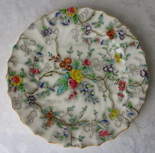 Spode Copeland Particia dinner plate 10 3/8 earthenware 19th century