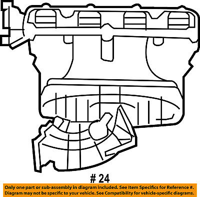 Chrysler Oem Intake Manifold Plenum 4792596ag