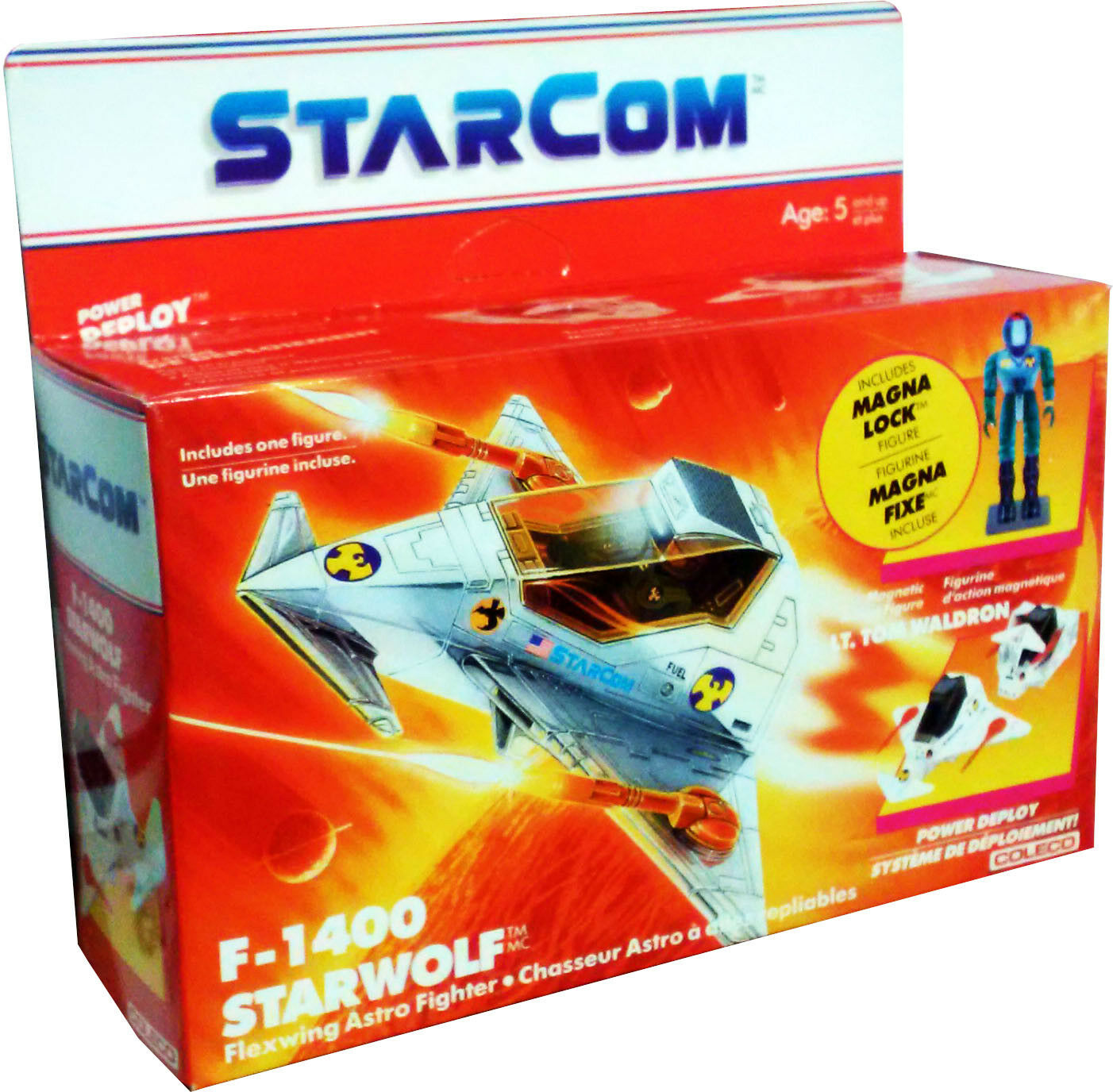 Starcom Vehicle Starwolf Star Wolf Canopy 1986 Original Part