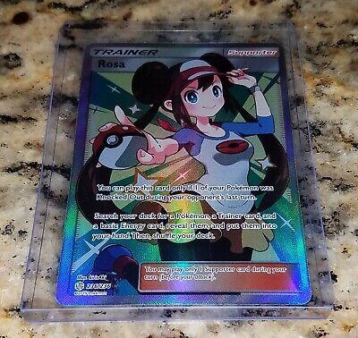 Pokemon Cosmic Eclipse ROSA 236/236 Full Art Trainer Ultra Rare Holo NM