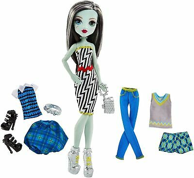 Monster High Lots of Looks Frankie Stein Daughter of Franken 10 Piece 20 Combos (Frankenstein Monster High)