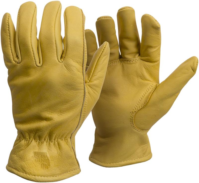 American Made Genuine Elkskin Leather Work Gloves , 950, Siz
