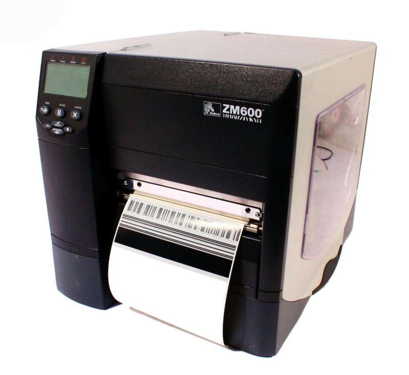 Zebra ZM600 Thermal Label Barcode Printer