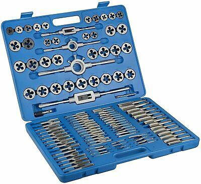 110pc Tap And Die Combination Set Tungsten Steel Titanium Metric Tools Case