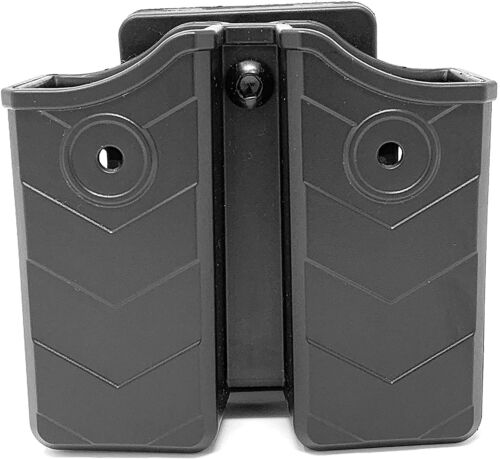 Universal Magazine Double Stack Mag Belt Holster 9mm Fits Glock 1911 Sig H&K S&W