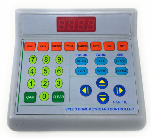Speed Dome Keyboard Controller