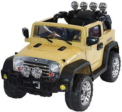Jeep Style Premium Ride On Electric Toy Car For Kids 12V JJ235 Battery Powered