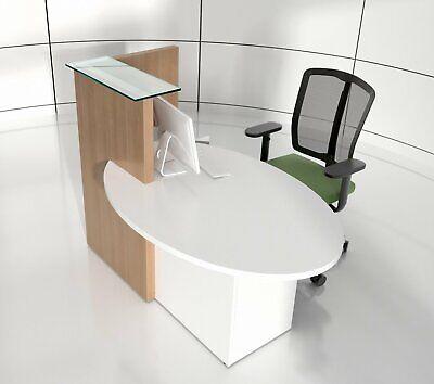 Ovo 61 Reception Desk Left-handed Counter