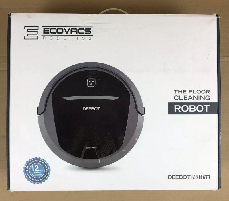 ECOVACS Robotics DEEBOT M81Pro App-Controlled Self-Charging Robot Vacuum Gray M81PRO